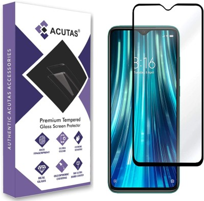 ACUTAS Edge To Edge Tempered Glass for Mi Redmi Note 8 Pro(Pack of 1)