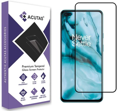ACUTAS Edge To Edge Tempered Glass for OnePlus Nord(Pack of 1)