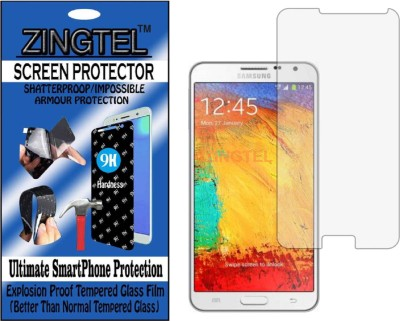 ZINGTEL Tempered Glass Guard for SAMSUNG GALAXY NOTE 3 NEO (N7505) (Flexible, Unbreakable)(Pack of 1)