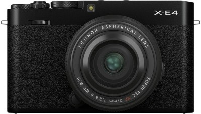 FUJIFILM X Series X-E4 Mirrorless Camera Body with XF 27 mm F2.8...