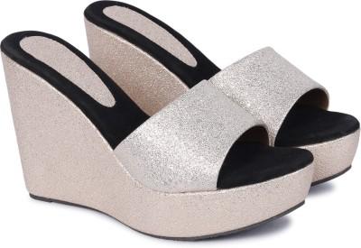 Alishtezia Women Gold Heels