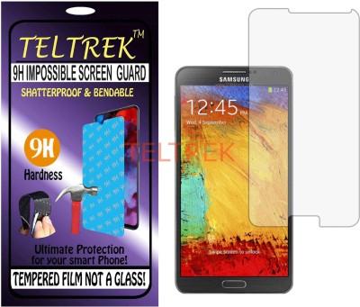 TELTREK Tempered Glass Guard for SAMSUNG NOTE 3 N9000 (Flexible, Unbreakable)(Pack of 1)