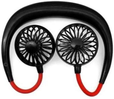 CARG7 Traveling Neck fan USB Rechargeable Fan Neckband Dual Head Fans for Kitchen Home Office USB Fan Portable Neck Fan...