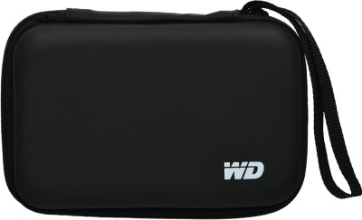 iTronix Pouch for Seagate, Toshiba, WD, Sony, Transcend, Lenovo, ADATA, HP & Hitachi 2.5 inch External Hard Disks(Black, Hard Case)
