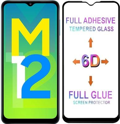 Micvir Tempered Glass Guard for Samsung Galaxy F12, Samsung Galaxy A12, Samsung Galaxy M12(Pack of 1)