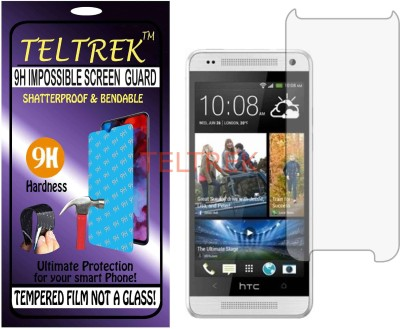 TELTREK Tempered Glass Guard for HTC ONE MINI (Flexible, Unbreakable)(Pack of 1)