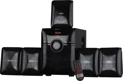 TECNIA Super King 510 Bluetooth 5.1 Home Theater System 50 W Bluetooth Home Theatre(Black, 5.1 Channel)