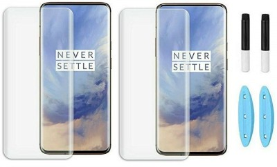 Fovtyline Edge To Edge Tempered Glass for OnePlus 9 Pro(Pack of 2)