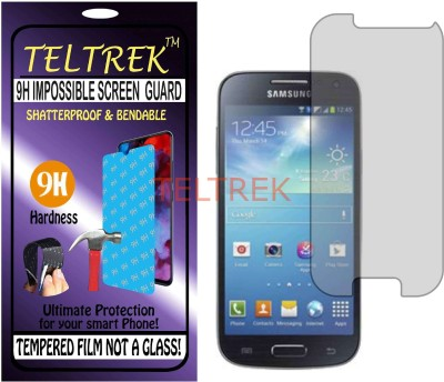 TELTREK Tempered Glass Guard for SAMSUNG GALAXY S4 MINI I9192 (Flexible, Unbreakable)(Pack of 1)