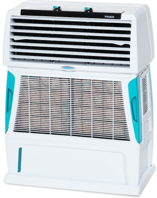 Symphony 55 L Room/Personal Air Cooler(White, Touch 55)