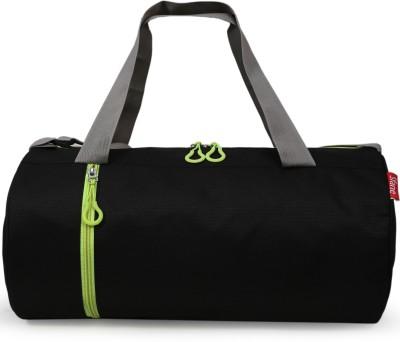Sfane Trendy Men & Women Black Sports Duffel Gym Duffel Bag