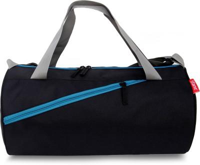 Sfane Trendy Men   Women Blue Black Sports Duffel Duffel Without Wheels Sfane Duffel Bags