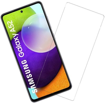 KARTRAY Tempered Glass Guard for Samsung Galaxy A52(Pack of 1)