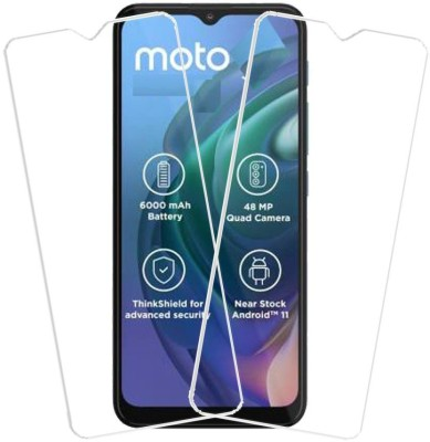 KARTRAY Tempered Glass Guard for Motorola G10 Power, Motorola G30(Pack of 2)