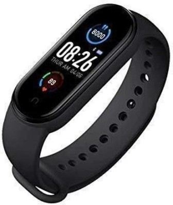 TRINITYINC M5 SMART BAND WITH 11 WORKOUT MODE(Black Strap, Size : FREE SIZE FOR ALL)