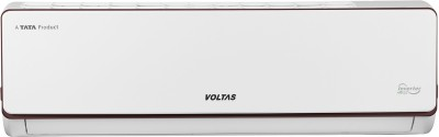 Voltas 2 in 1 Convertible Cooling 1.6 Ton 5 Star Split Inverter AC  - White(CU 195V ADJ/EU 195V ADJ, Copper Condenser)