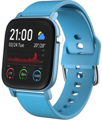 AQFIT W11 Smartwatch(Blue Strap, Regular)