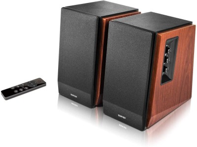 Edifier R1700BTs 66 W Bluetooth Studio Monitor(Brown, 2.0 Channel)