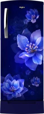 Whirlpool 215 L Direct Cool Single Door 5 Star Refrigerator with Base Drawer(Sapphire Mulia, 230 IMPRO ROY 5S INV SAPPHIRE MULIA)