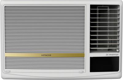 Hitachi 1.5 Ton 5 Star Window Inverter AC - White(RAW518HDEA, Copper Condenser)