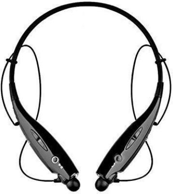 Czech Sports Stereo Headphones Bluetooth Headset(Black, True Wireless)