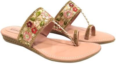 Gulmohar Fashion Women Pink Wedges