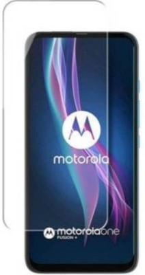 FashionCraft Screen Guard for Motorola One Fusion Plus(Pack of 1)
