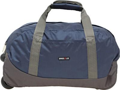 BAGSRUS Cabin Luggage Trolley Amaze Small Travel Bag   Medium Blue BAGSRUS Small Travel Bags