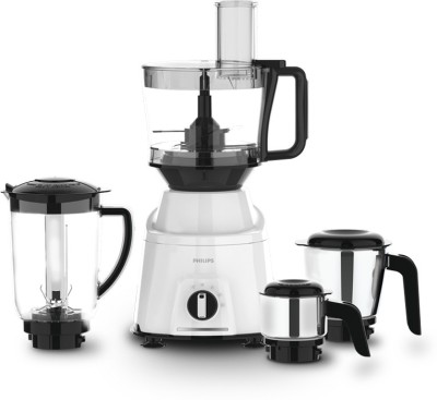 PHILIPS HL7763 Avengers mixer 750 Juicer Mixer Grinder (4 Jars, White)