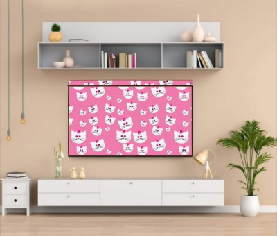 Newleaf Trends Printed PVC Television cover Protector for 32 inch LCD/ LED TV - All Brands & Models for 32 inch LCD/ LED TV  - Printed PVC Television cover Protector for 32 inch LCD/ LED TV - All Brands & Models(MULTI -P)