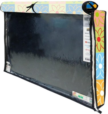 Newleaf Trends Printed PVC Television cover Protector for 32 inch LCD/ LED TV - All Brands & Models for 32 inch LCD/ LED TV  - Printed PVC Television cover Protector for 32 inch LCD/ LED TV - All Brands & Models(MULTI -D)