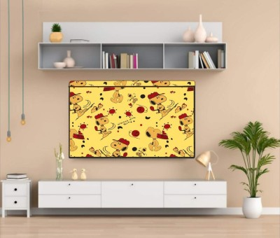 Newleaf Trends Printed PVC Television cover Protector for 32 inch LCD/ LED TV - All Brands & Models for 32 inch LCD/ LED TV  - Printed PVC Television cover Protector for 32 inch LCD/ LED TV - All Brands & Models(MULTI -O)