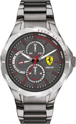 SCUDERIA FERRARI 0830760 Pista Analog Watch   For Men SCUDERIA FERRARI Wrist Watches