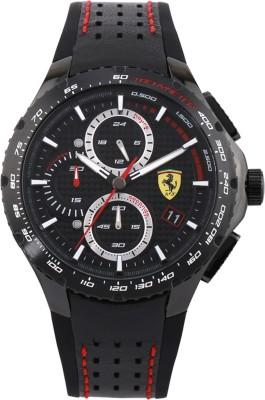 SCUDERIA FERRARI 0830734 Pista Analog Watch   For Men SCUDERIA FERRARI Wrist Watches