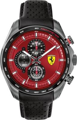 SCUDERIA FERRARI 0830650 SPEEDRACER Analog Watch   For Men SCUDERIA FERRARI Wrist Watches