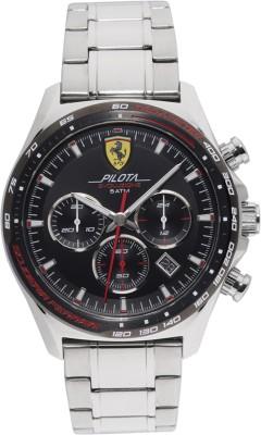 SCUDERIA FERRARI 0830714 Pilota Evo Analog Watch   For Men SCUDERIA FERRARI Wrist Watches