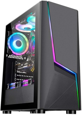 Connect Infotech Ryzen 5 3500 (8 GB RAM/GT GeForce 730 Graphics/1 TB Hard Disk/240 GB SSD Capacity/Windows 10 Pro (64-bit)/4...