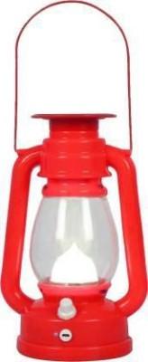 Dilurban Red Plastic Hanging Lantern(9.5 cm X 6.5 cm, Pack of 1)