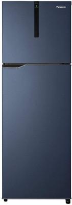 Panasonic 336 L Frost Free Double Door 3 Star Refrigerator(Deep ocean blue, NR-BG343VDA3)