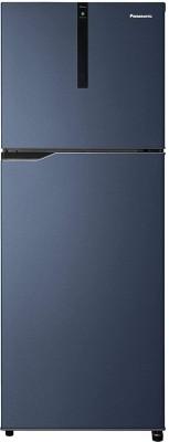 Panasonic 307 L Frost Free Double Door 3 Star Refrigerator(Deep Ocean Blue, NR-BG313VDA3)