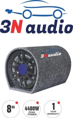 3N Audio TN-8S 3N Audio 8 inch Active Bass Tube Subwoofer with inbuilt Amplifier 4400w Subwoofer(Powered , RMS Power: 280...