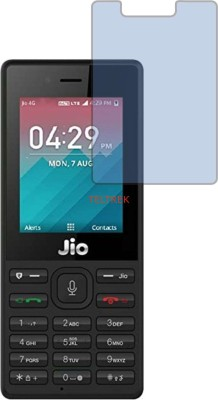 TELTREK Tempered Glass Guard for JIO LYF F50 (Impossible AntiBlue Light)(Pack of 1)