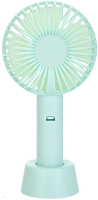 DILURBAN Good Quality Portable Mini Electric USB Fan with Rechargeable cell USB Fan 10 USB Fan Blue DILURBAN Mobile Accessories