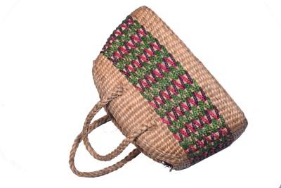 iris craftstore HYB01 Plush Bag Beige, 13 inch iris craftstore Handbags   Clutches