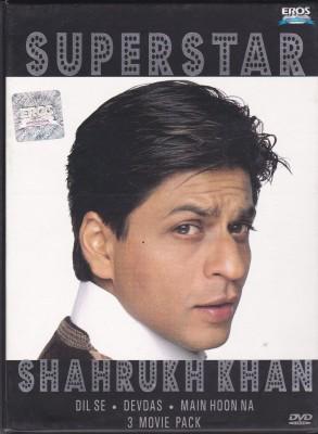 Superstar Shahrukh Khan [Dil Se / Devdas / Main Hoon Na](DVD Hindi)