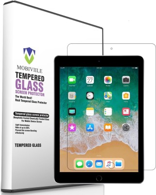 MOBIVIILE Tempered Glass Guard for Apple iPad Air 2 9.7 inch, Apple iPad 6th Gen. 9.7 inch, Apple iPad 5th Gen. 9.7 inch, Apple iPad Air 9.7 inch(Pack of 1)