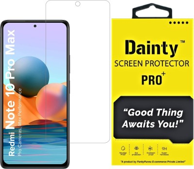 Dainty TECH Tempered Glass Guard for Mi Redmi Note 10 Pro Max, Mi Redmi Note 10 Pro, Mi Redmi Note 9 Pro Max, Mi Redmi Note 9 Pro, Poco X3 Pro, Poco X3, Poco M2 Pro(Pack of 1)