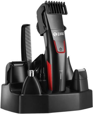 Beardo Beast Styling Trimmer Kit for Men Runtime: 60 min(Red, Black)