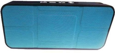 CRETO X BS334 Bluetooth Portable USB Music Speaker AUX SD Card Player FM Radio Blue