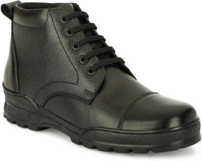 GMERD Leather Boot Boots For Men Black GMERD Casual Shoes